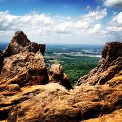 Photo taken at Crowders Mountain State Park by Aimee on 6/1/2012