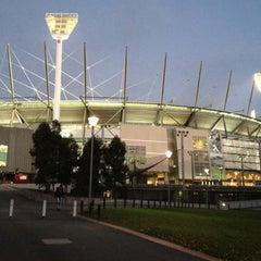 Photo taken at Melbourne Cricket Ground (MCG) by Josh R. on 5/12/2012