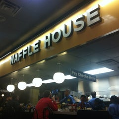 Photo taken at Waffle House by Tyler L. on 3/25/2012