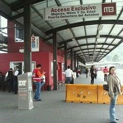 Photo taken at Metrobús  Indios Verdes by Beto R. on 7/20/2012