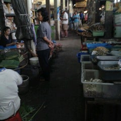 Photo taken at Pasar Sentul by Monica R. on 7/11/2012