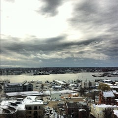 Photo taken at Holiday Inn Portland-By The Bay by Scott M. on 3/28/2012