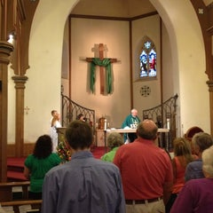 Photo taken at Holy Cross Church by Michael M. on 9/1/2012