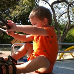 Photo taken at Barton Springs Playground by Christel S. on 8/5/2012