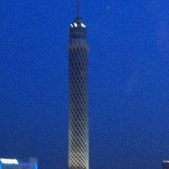 Photo taken at Cairo Tower | برج القاهرة by Fabrice A. on 3/21/2012