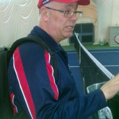 Photo taken at Tennis Courts by Kwame A. on 5/9/2012