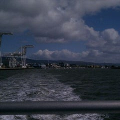 Photo taken at Oakland Ferry Terminal by Jared H. on 3/18/2012