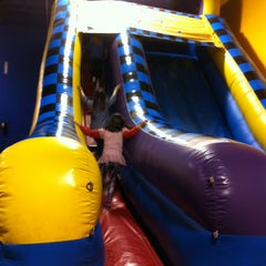 Photo taken at Pump It Up by Lyn C. on 2/26/2012