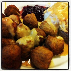 Photo taken at IKEA Restaurant by Amanda H. on 4/18/2012