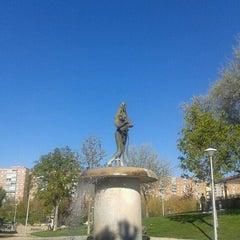 """Photo taken at Parque de """"La Ribota"""" by Genial_es on 4/9/2012"""