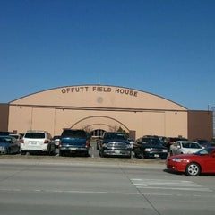 Photo taken at Offutt Field House by Aaron D. on 3/5/2012