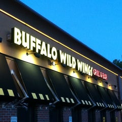 Photo taken at Buffalo Wild Wings by Amanda P. on 9/5/2012