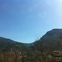 Photo taken at Castel Beseno by Nicola @. on 3/29/2012