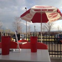 Photo taken at Smashburger by Christine C. on 3/23/2012