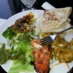 Photo taken at Bombay Bistro by Heidi W. on 3/28/2012