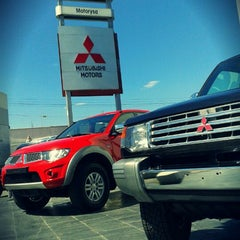 Photo taken at Motorysa Mitsubishi Colombia by Alejandro B. on 5/15/2012