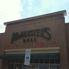 Photo taken at McAlister's Deli by Alexis G. on 5/10/2012