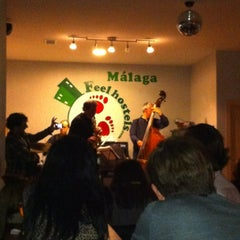Photo taken at Feel Malaga Hostel by M. Angeles B. on 3/17/2012
