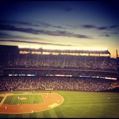 Photo taken at Safeco Field by Jordan P. on 4/23/2012