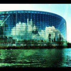 Photo taken at Parlement Européen by Thomas V. on 3/11/2012