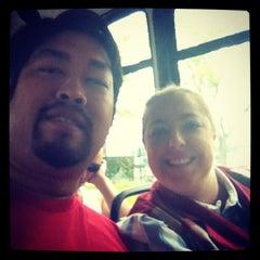 Photo taken at Disney Cast Member Shuttle by Erin G. on 5/13/2012