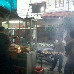 Photo taken at Warung Sate Pak Tua by tomtim n. on 6/16/2012