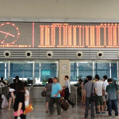 Photo taken at 杭州汽车客运中心 Hangzhou Passenger Transport Center by Thiago d. on 6/10/2012