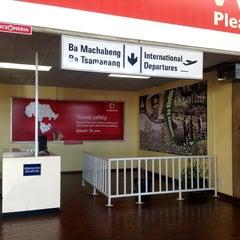 Photo taken at Moshoeshoe I International Airport (MSU) by Carlo F. on 6/16/2012