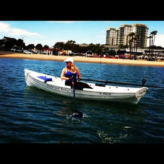 Photo taken at Whitehall Spirit Rowing Club Marina Del Rey by Stephen P. on 5/4/2012