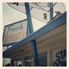 Photo taken at Stardust Donut Shop by Veena S. on 6/1/2012