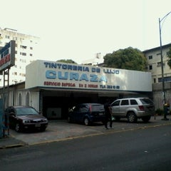 Photo taken at Tintoreria Curazao by Juan Miguel G. on 3/19/2012