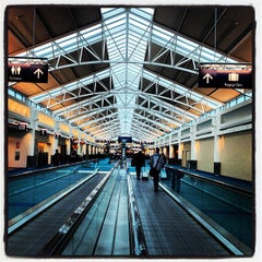 Photo taken at Portland International Airport (PDX) by Tyler G. on 3/14/2012