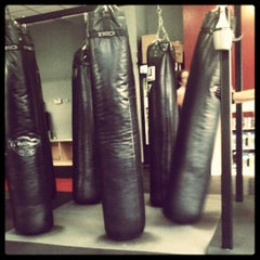 Photo taken at CKO Kickboxing of Carroll Gardens by Amy L. on 5/26/2012