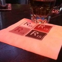 Photo taken at R15 Bar by Savannah M. on 3/14/2012