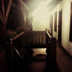 Photo taken at Hostel Mostel by Jeje on 6/29/2012