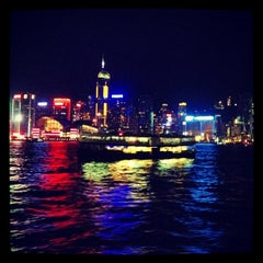 Photo taken at Victoria Harbour 維多利亞港 by Germaine C. on 7/28/2012