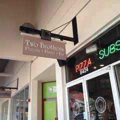 Photo taken at Two Brothers Pizza by Rocio on 9/1/2012