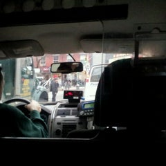 Photo taken at NYC Taxi Cab by Alexander S. on 3/2/2012