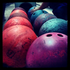 Photo taken at Strike Bowling Park by Carlos A. on 7/13/2012