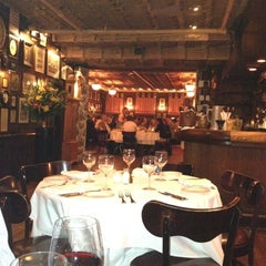 Photo taken at Keens Steakhouse by Jenny P. on 3/20/2012