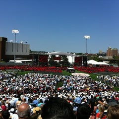 Photo taken at Nickerson Field by Gaby B. on 5/20/2012