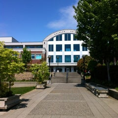 Photo taken at Douglas College (David Lam Campus) by Stephanie C. on 5/16/2012