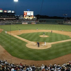 Photo taken at Dell Diamond by Melinda R. on 8/21/2012