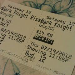 Photo taken at B&B Mesa Gateway 12 IMAX by Saidur R. on 7/12/2012
