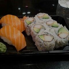 Photo taken at Osaka Sushi Express & Fresh Fruit Drinks by Nick S. on 2/26/2012