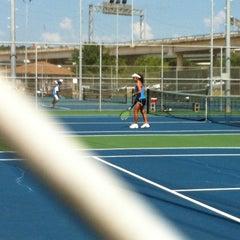 Photo taken at Austin High Tennis Center by Lysa S. on 7/14/2012