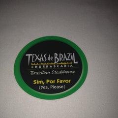 Photo taken at Texas de Brazil by Albie Vas V. on 4/14/2012