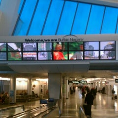 Photo taken at Buffalo Niagara International Airport (BUF) by Kaylyn S. on 2/24/2012