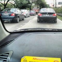 Photo taken at Jalan Syed Putra by aizal a. on 7/9/2012