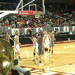 Photo taken at Galen Center (GEC) by Yoly R. on 3/9/2012